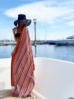 Kikoy VINO Multi Colore 100/% COTONE Sarong LANCIA Asciugamano Kenya Costumi da bagno NUOVO