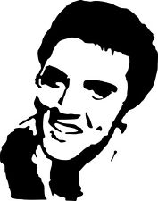 "Elvis Presley 6x8""Vinyl Decal Sticker Wall Art Laptop Car Van Boat Plastic Glass"