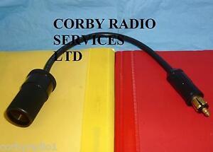 HD HELLA PLUG TO UK SOCKET HEAVY DUTY 12V/24V HGV LORRY BOAT CAR ADAPTER