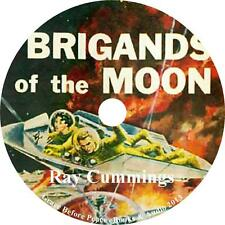 Brigands of the Moon, Ray Cummings Sci-Fi Audiobook unabridged on 1 MP3 CD
