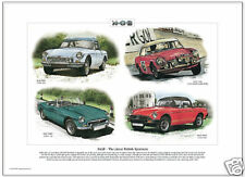 MGB - The Great British Sportscar - Fine Art Print - MG