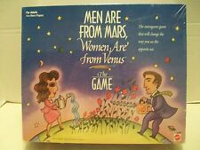 Men Are From Mars, Women Are From Venus The Game Mattel #41803 NIB 1998!
