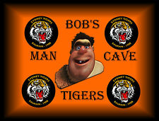 BOB'S MAN CAVE  TIN SIGN