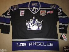 Luc Robitaille #20 Los Angeles Kings NHL CCM ALL Star Patch Black Jersey 2XL NEW