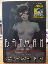 Batman The Animated Series Catwoman Bust Black & White SDCC 2015 UK Seller