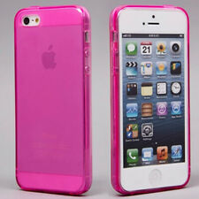 Soft Crystal Case Cover TPU Silicone Protector Skin for iphone 5 5S Free Pluggy