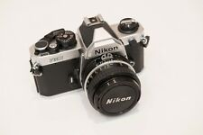 Nikon FM2N 35mm SLR Film Camera Body with 50mm F1.8 Lens
