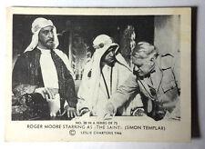 "1966 Roger Moore as ""The Saint"" Somportex Trading Card #28 from Denmark/UK"