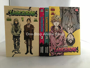 Livingstone (Vol.1 -4) English Manga Graphic Novels NEW complete