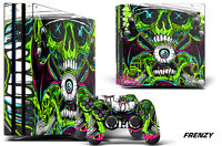 Skin Decal Wrap For PS4 PRO Playstation 4 Pro Console + Controller Stickers FRZY