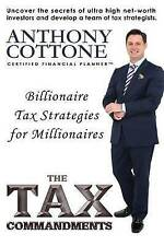 USED (LN) The Tax Commandments by Mr. Anthony M Cottone