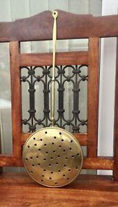 Vintage Brass Chestnut Roaster