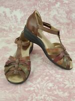 EARTH ORIGINS BY EARTH Womens Posy Leather Sandals Sz 7M Comfort Shoe