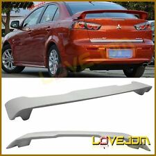 Fit 2008-2015 Mitsubishi Lancer OE Style Rear Spoiler Wing-ABS Plastic