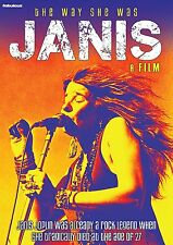 JANIS JOPLIN The Way She Was - A Film DVD in Inglese NEW .cp