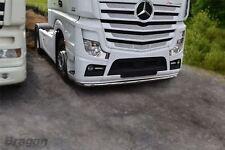To Fit Mercedes MP4 Truck Low Light Bar Spoiler Under Bumper Lobar + 11 LED