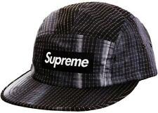 Supreme Tie Dye Ripstop Camp Cap Black SS19