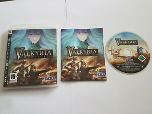 Valkyria Chronicles (Sony PlayStation 3, 2008) **VGC** **COMPLETE** Collectable