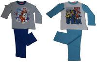Paw Patrol Pyjama Schlafanzug Marshall Rubble Chase für Jungen Gr. 98-116