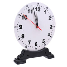 Learning 24Hours Clocks for Preschool Teaching Time Tool Toy Kids Learning