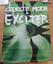 Depeche Mode Exciter Promotional Poster 36 X 25