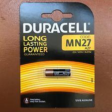 Nueva Batería Alcalina Duracell MN27 A27 12 V 27 A GP27A EL812 para mandos a distancia