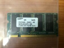 Samsung PC2700S-25331-A0 512MB DDR PC2700 CL2.5 SODIMM RAM Memory