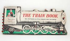 Train Book Big Pictures & Little Stories for Children Jeffrey Victor Vtg 1946