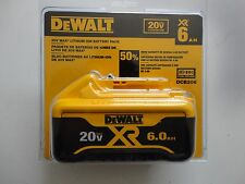 DEWALT DCB206 20V 20 Volt max lithium Ion 6 AH battery Pack New Replaces DCB205