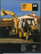 "Caterpillar ""428C"" Backhoe Loader Brochure Leaflet"