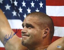 Rulon Gardner Signed 11x14 Photo BAS COA 2000 Olympics USA Wrestling Gold Auto'd