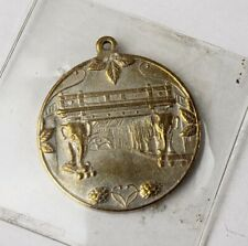 Antique German Brewery Medal Token With Elephants