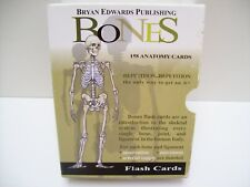 Anatomy Muscles Bones Physiology Flash Cards - Bryan Edwards