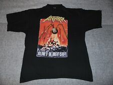 Rare! Anthrax Volume 8 -The Threat Is Real T-shirt Men Women Size S to 4XL PP566
