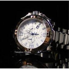 Relojes de pulsera de plata cronógrafo Invicta