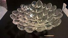 Bowl Crystal Scandinavian Art Glass