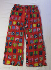 c7ae53c94a Old Navy Intimates Unisex Pajama Pants Size S Red Cotton Christmas Presents