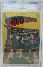 Superman #64 ~ DC 1950 ~ CGC 6.5 ~ Prankster story