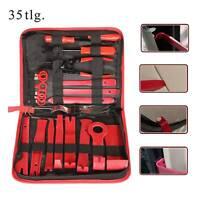 11-tlg Set Zierleistenkeil Montagehebel Kunststoff Keil Montagekeil KFZ Werkzeug