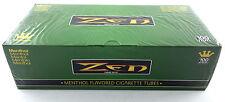 1 Box Zen Smoke 100 mm 100's Size Cigarette Filter 200 Tubes Menthol - 3135-1