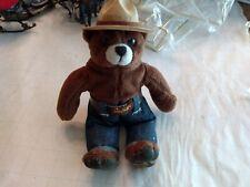 Vintage Smokey The Bear Plush Doll 6 inches