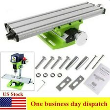 Milling Machine Work Table Compound X Y Cross Slide Bench Drill Vise Fixture