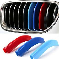 3D M Styling Car Front Grille Trim Sport Strips for 14-15 BMW 5 Series E60