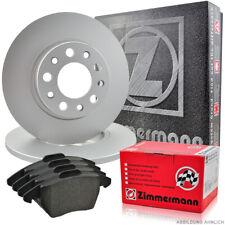 Zimmermann Bremsscheiben 302mm Beläge Hinten AUDI A6 4F C6 auch Avant 4F2 4F5