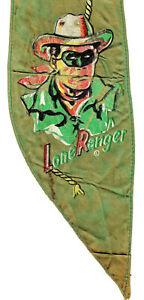 Vintage, original LONE RANGER & SILVER bandana, unique and rare collectible