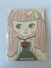 Dear Girl Face Pumpkin Blythe Doll Necklace Brand New
