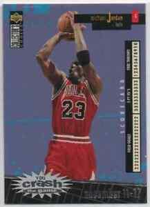 1996-97 Collector's Choice Crash the Game Scoring 1 Michael Jordan Winner  #C30