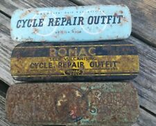 3 Old Bycicle Repair Tins