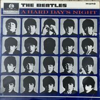 THE BEATLES ~ A Hard Day's Night ~ 1964 UK 2nd Pressing MONO vinyl LP ~EXCELLENT
