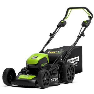 Greenworks 80V Lawn Mower 51cm Push Brushless Mower